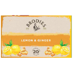 Infusion Brodies - Lemon & ginger