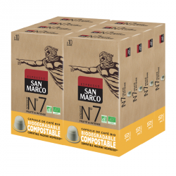 Capsules de café BIO N°7 Maxi format