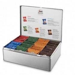 Coffret de 28 capsules de café moulu Segafredo