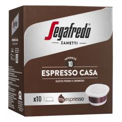Capsules de café moulu Espresso Casa Segafredo Myespresso